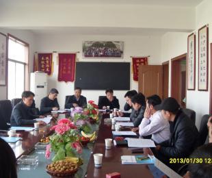 江山市门业行业协会一届二次理事会召开