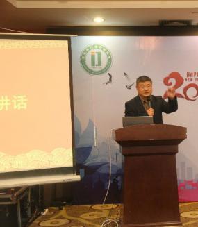 巫小雄副市长在门业行业协会年会上为江山门业呐喊助威