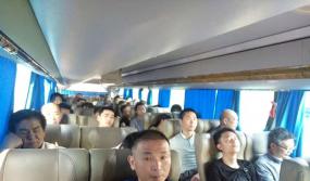 江门协组织近50个会员赴永康门博会参观学习
